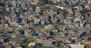 Здания города в Pokhara сток-видео