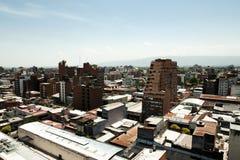 Здания города - Tucuman - Аргентина стоковое изображение rf