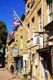 Здания городка, откалывая Campden стоковая фотография
