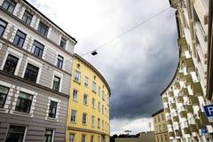 Здания и голубое небо Стоковое Изображение