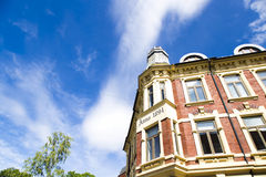 Здания и голубое небо Стоковое Изображение RF