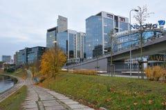 Здания корпоративного бизнеса, Вильнюс Стоковая Фотография RF