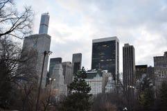 Здания Манхаттана новые Jork Стоковые Изображения RF