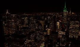 Здания Манхаттана, Нью-Йорка Стоковое Изображение RF