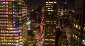 Здания Манхаттана, Нью-Йорка Стоковая Фотография RF