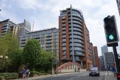 Здания Манчестера Стоковое Изображение RF