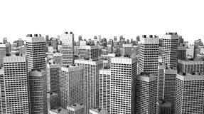 здания много самомоднейшие Стоковое Изображение