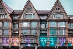 Здания Мюнхена и дома, Германия стоковое фото rf