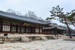 Здания на дворце area3 Changgyeong Стоковое Изображение RF