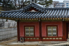 Здания на дворце area5 Changgyeong Стоковое фото RF