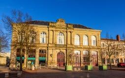 Здания на месте Leopold в Luneville - Франции Стоковое Изображение