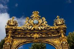 Здания на месте Stanislas в Нэнси золотой город Стоковые Фото