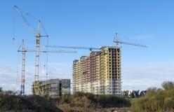 2 здания на новом месте Стоковые Изображения