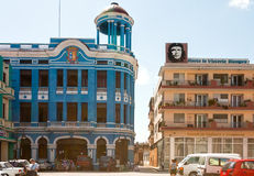 Здания на Площади de los Trabajadores Стоковое Фото