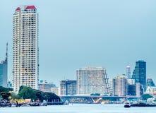 Здания небоскреба в Бангкоке Стоковое Изображение