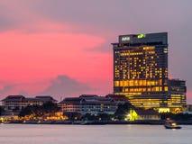 Здания небоскреба в Бангкоке Стоковые Фото
