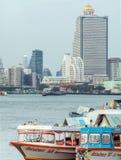 Здания небоскреба в Бангкоке Стоковая Фотография RF
