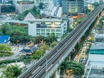 Здания небоскреба в Бангкоке Стоковая Фотография