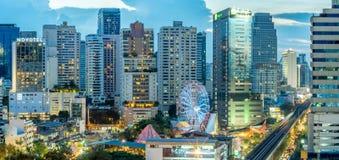 Здания небоскреба в Бангкоке Стоковое Фото