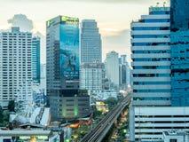 Здания небоскреба в Бангкоке Стоковые Изображения