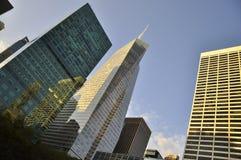 Здания небоскреба New York City Стоковые Изображения