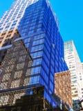 Здания Нью-Йорка современные Стоковые Фото