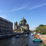 Здания оперы Берлина Германии исторические стоковое изображение rf
