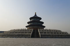Здания Пекин Китай виска Temple of Heaven Tiantan Daoist eligious Стоковое Изображение RF