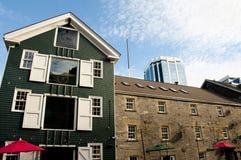Здания портового района Halifax - Новая Шотландия - Канада Стоковые Изображения RF