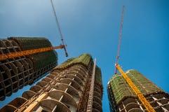 Здания под конструкцией Стоковое Изображение