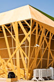 здания сделали древесину Стоковое Фото