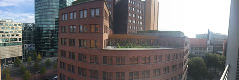 Здания улицы Берлина Германии стоковая фотография rf