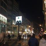 Здания улицы Берлина Германии стоковая фотография