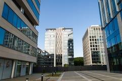 Здания центр-офиса Businness Стоковые Изображения RF