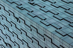 Здания Шанхая - искусство архитектуры - линии и картины Стоковое фото RF