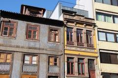 Здания - d Улица Манюэля II - Порту - Португалия Стоковое Фото