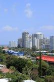 Здания Fort Lauderdale пляжные Стоковые Изображения