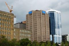 Здания Halifax, Новой Шотландии Стоковая Фотография RF