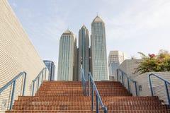 Здания Highrise в Абу-Даби Стоковое Фото