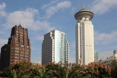 Здания Highrise в Шанхае Стоковое Изображение RF