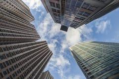 Здания Highrise Стоковые Изображения RF