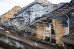 Здания Hoi, Вьетнам стоковые изображения rf