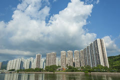 здания Hong Kong селитебное Стоковое Изображение