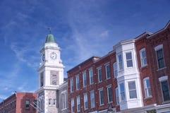 Здания Litchfield Коннектикута стоковая фотография