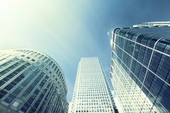 здания london самомоднейший Стоковые Фотографии RF