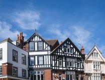 Здания Tudor Стоковое фото RF