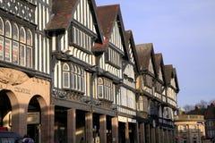 Здания Tudor, Chesterfield Стоковое Фото