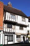 Здания Tudor, Tewkesbury Стоковая Фотография