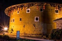 Здания Tulou в южном Китае Стоковая Фотография