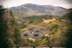 Здания Tulou в южном Китае Стоковое Изображение